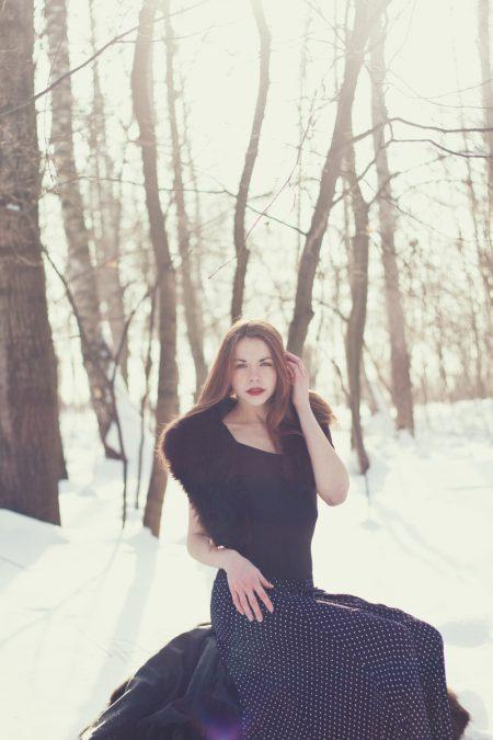 Зимняя фотосессия в Житомире