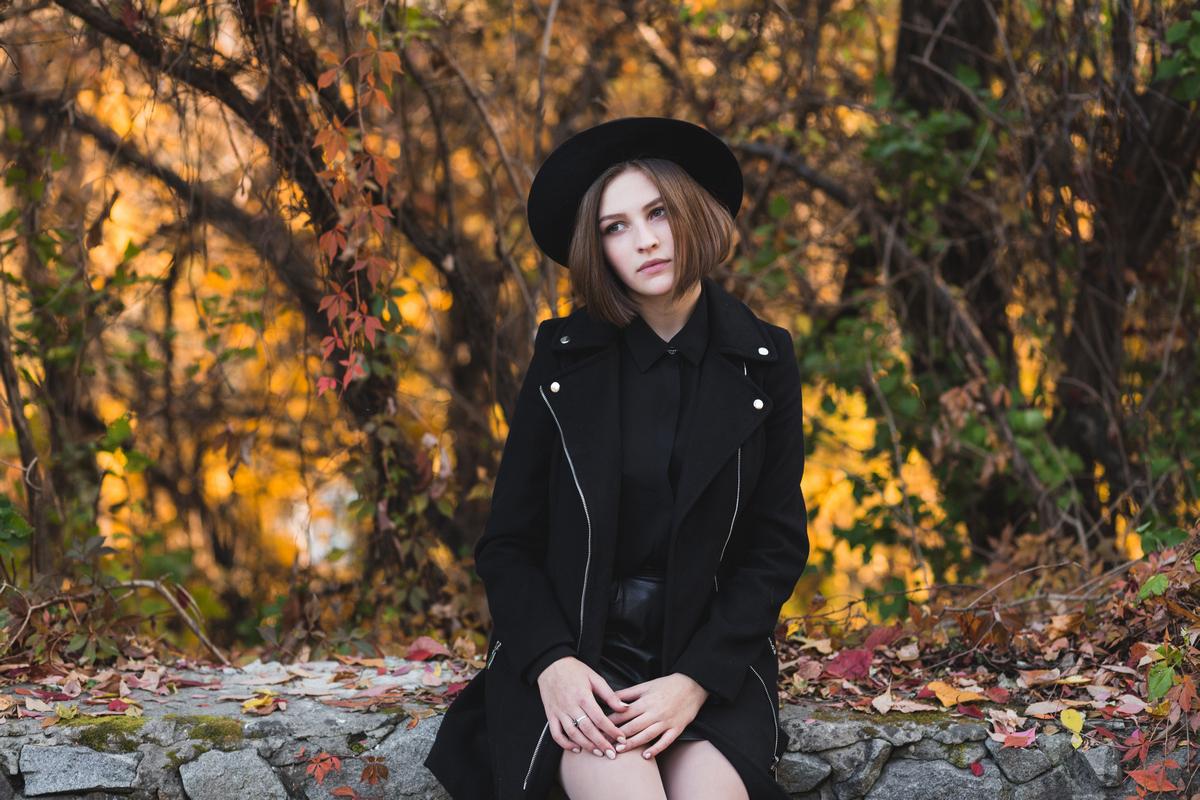 Осенняя фотосессия в Житомире Маша