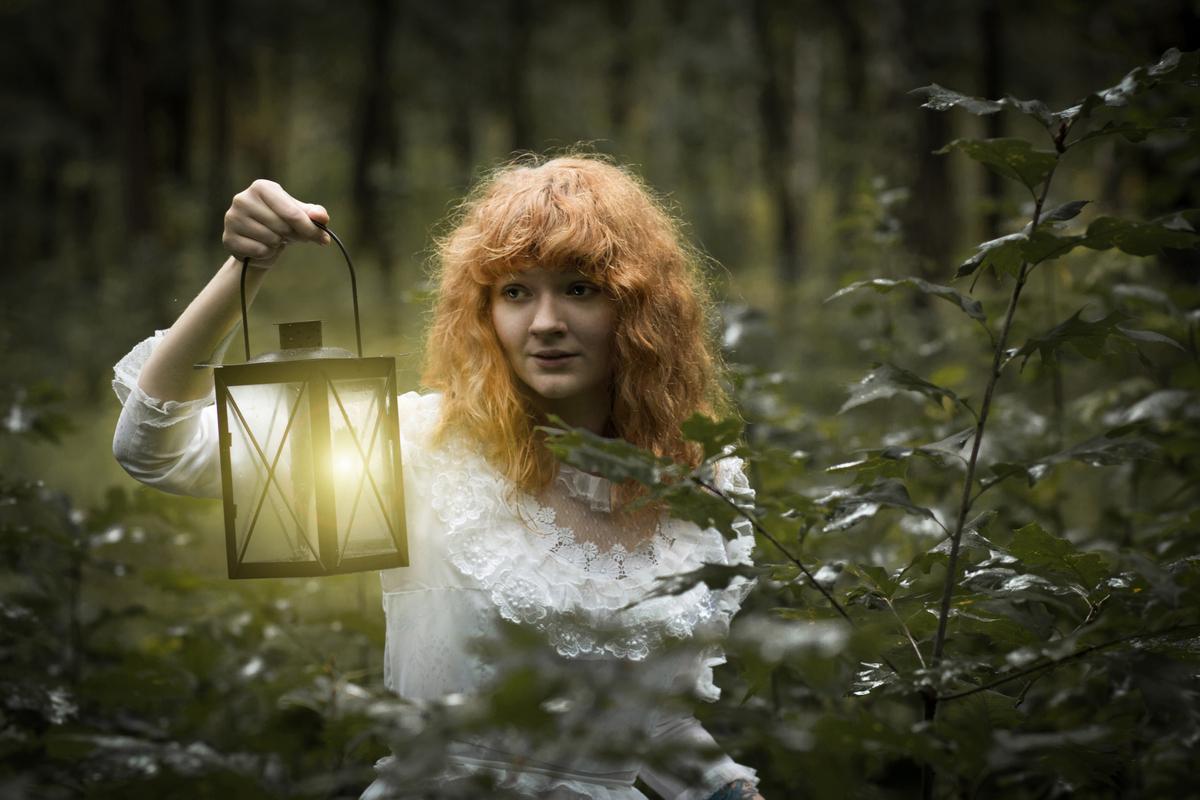 Сказочная фотосессия в лесу