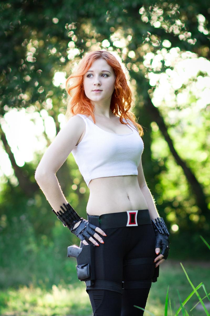 Косплей фотосьемка Black Widow