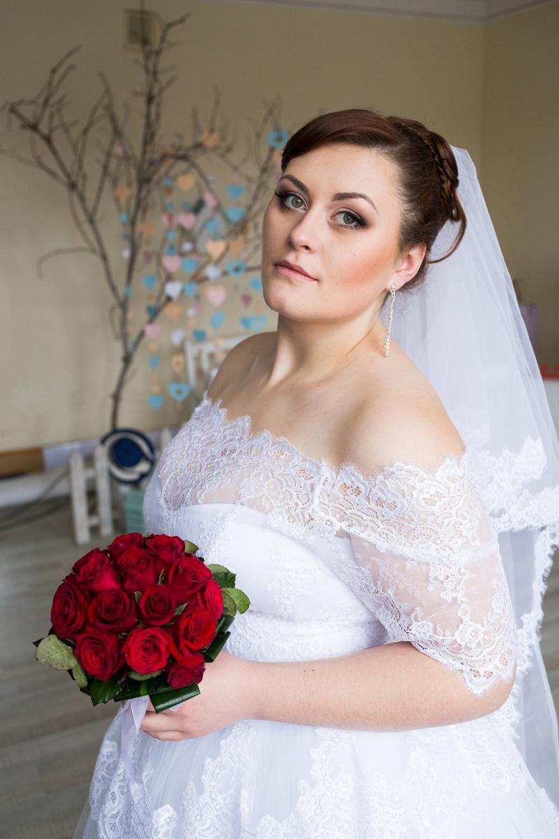 Зимняя свадьба в Житомире Дима и Настя