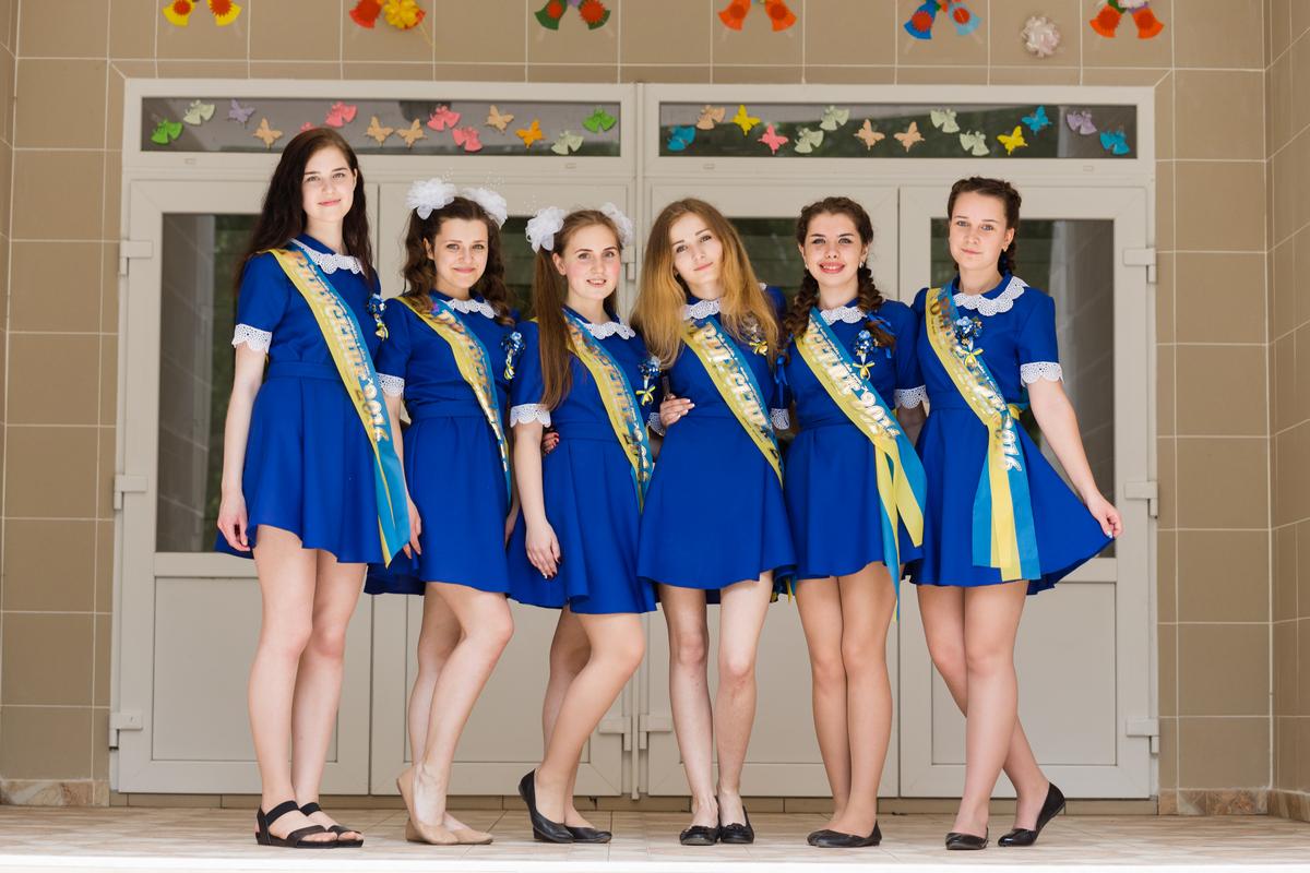 Школьный выпускной в Житомире